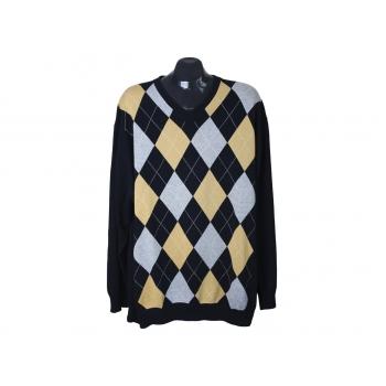 Пуловер мужской с ромбами COMMANDER, 3XL