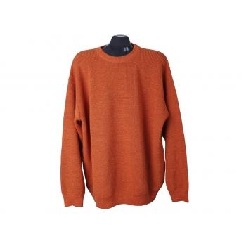 Джемпер мужской шерстяной оранжевый ENGBERS, 3XL