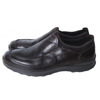 Туфли кожаные мужские коричневые ECCO 43 размер