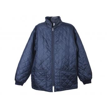 Куртка стеганная демисезонная мужская синяя, XL