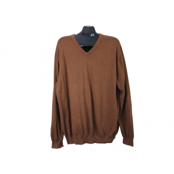 Пуловер мужской коричневый BUGATTI, XXL