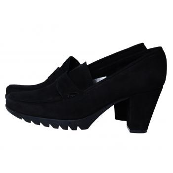 Туфли черные замшевые женские ARCHE LN 39 размер