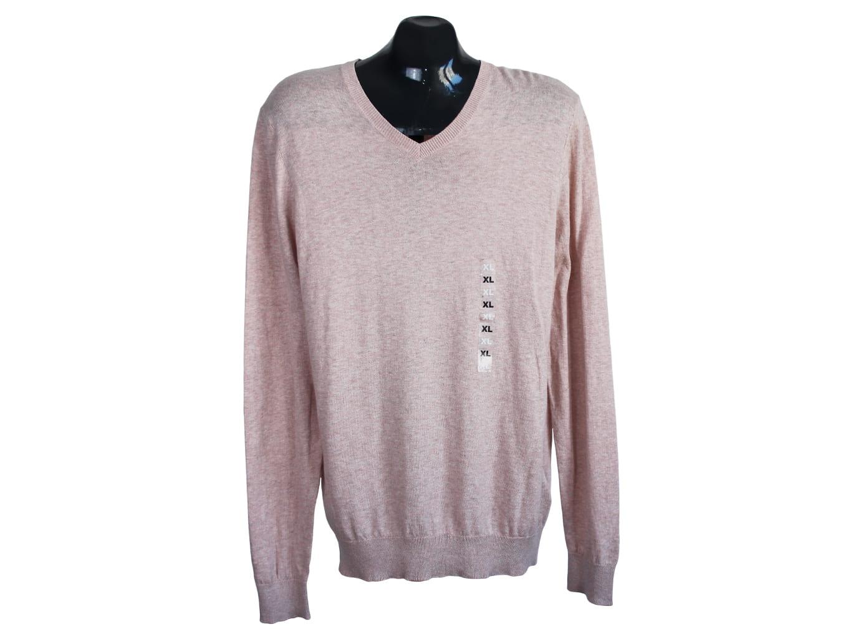 Пуловер кашемировый бежевый мужской KIABI, XL