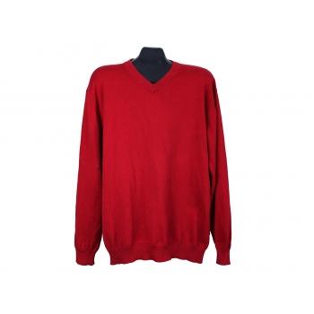 Пуловер мужской красный COMMANDER, XL