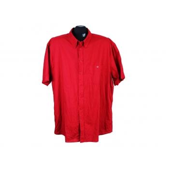 Рубашка льняная красная мужская BIAGGINI, XXL