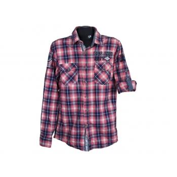 Рубашка в клетку мужская MUSCLE FIT CAMP DAVID, S