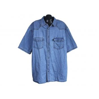 Рубашка джинсовая мужская BLUE ONE, 3XL