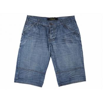 Шорты длинные джинсовые мужские FISHBONE W 38