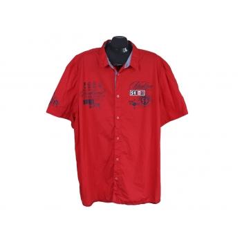 Рубашка мужская красная BPC SELECTION, 4XL