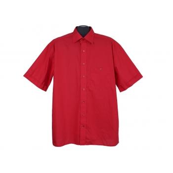 Рубашка мужская красная ETERNA EXCELLENT, XL