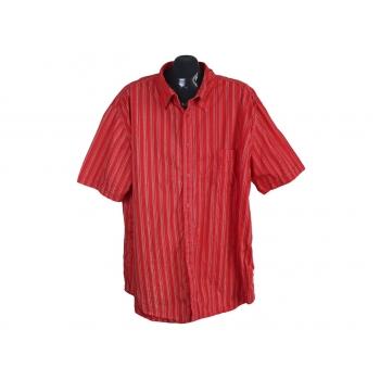 Рубашка мужская красная в полоску BIAGGINI, 3XL