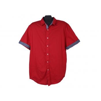 Рубашка мужская красная LIVERGY, XL