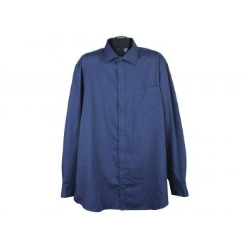 Рубашка синяя мужская DRESSMANN, XXL