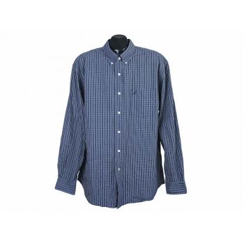 Рубашка в клетку синяя мужская NAUTICA, XL