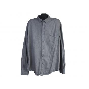 Рубашка серая мужская CLAIBORNE SLIM FIT, 3XL