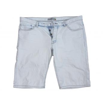 Шорты джинсовые белые мужские CLOCKHOUSE W40