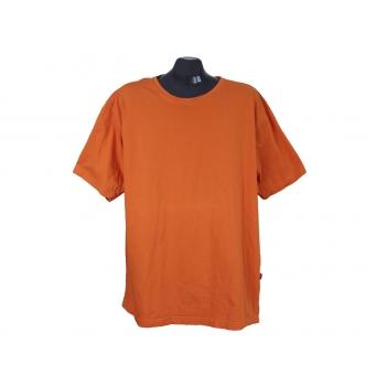Футболка оранжевая мужская SIGNUM, XL