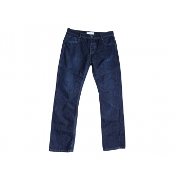 Джинсы прямые синие мужские STRAIGHT FIT DENIM W 36 L 36