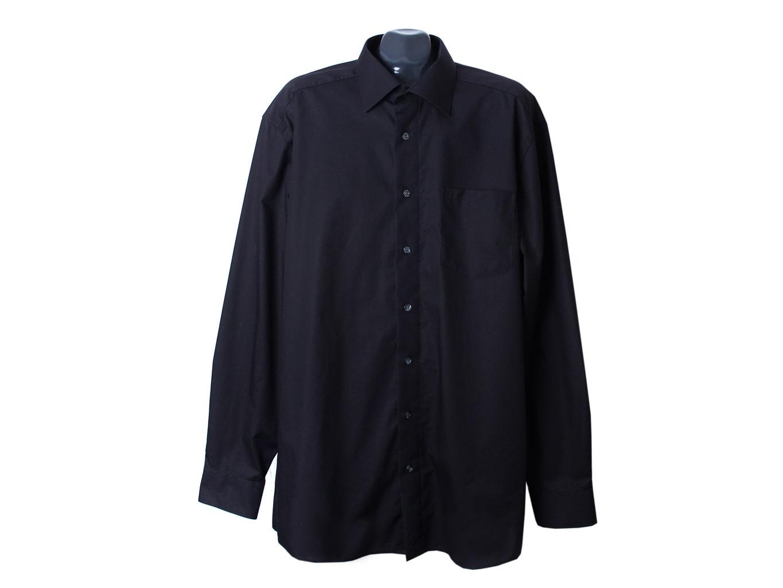 Рубашка черная мужская BUGELFREI CASA MODA, XXL
