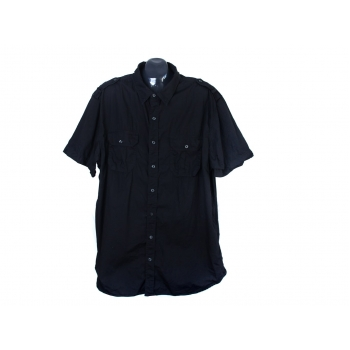 Рубашка черная мужская OLD NAVY, XXL