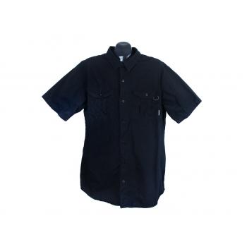 Рубашка черная мужская COLUMBIA, XL