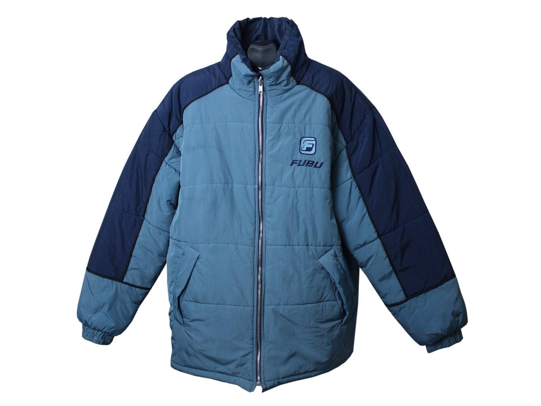 Куртка двухсторонняя зимняя мужская FUBU, 3XL