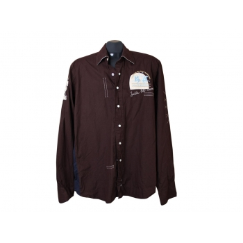 Рубашка коричневая мужская LA MARTINA, М