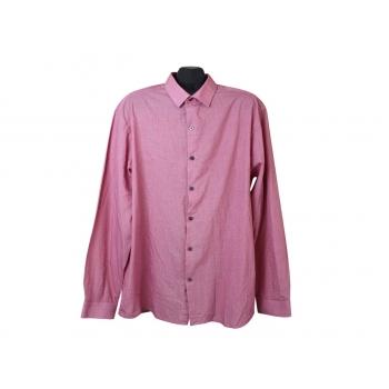 Рубашка красная мужская GEORGE, XL