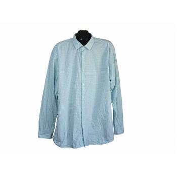 Рубашка стильная с орнаментом мужская ANGELO LITRICO, XXL