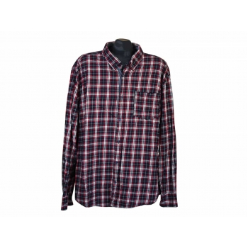 Рубашка теплая в клетку мужская DENIM, XL