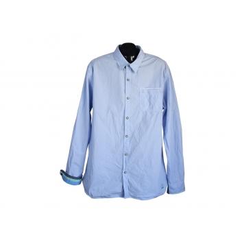 Рубашка голубая мужская SCOTCH & SODA, XL