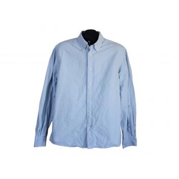 Рубашка голубая мужская COTTONFIELD, L