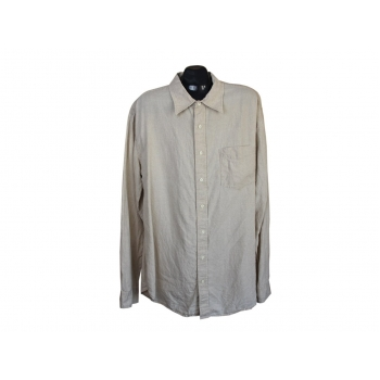 Рубашка льняная мужская GAP, XL