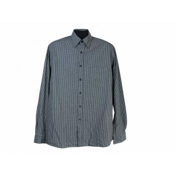 Рубашка серая в клетку мужская ESPRIT, L