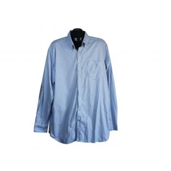 Рубашка голубая мужская WESTBURY PREMIUM, XL