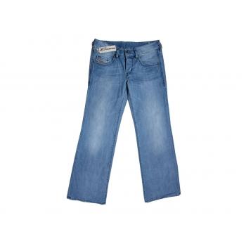 Джинсы клеш голубые женские VIXY DIESEL W28 L32