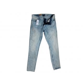 Джинсы голубые мужские SLIM FIT KIABI W 32 L 34