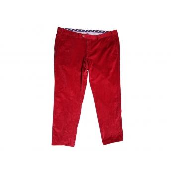 Брюки красные вельветовые мужские HILTL W 44 L 32