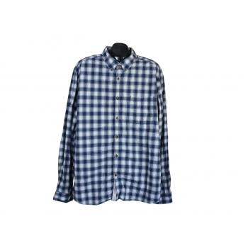 Рубашка в клетку мужская SLIM FIT ESPRIT, XXL