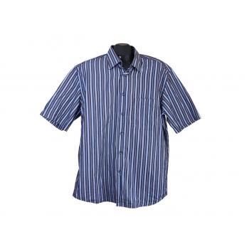 Рубашка мужская синяя в полоску VIA VERONA, L