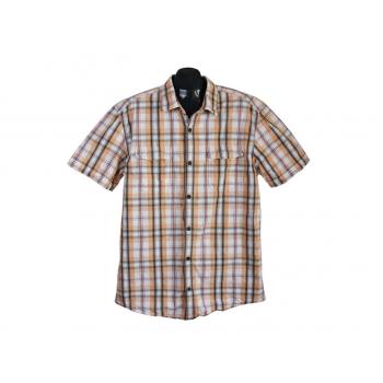 Рубашка мужская в клетку SLIM FIT S.OLIVER, XL