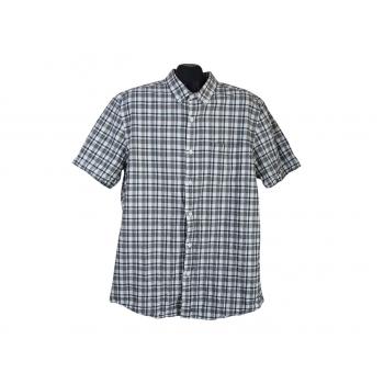 Рубашка мужская в клетку TOPMAN, L