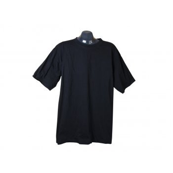 Футболка мужская черная, XL