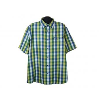 Рубашка мужская в клетку ODLO, XXL