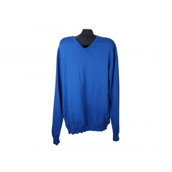 Мужской синий пуловер JEAN PASCALE, XL