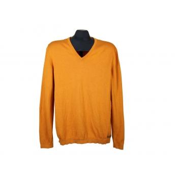 Мужской оранжевый пуловер ESPRIT, M