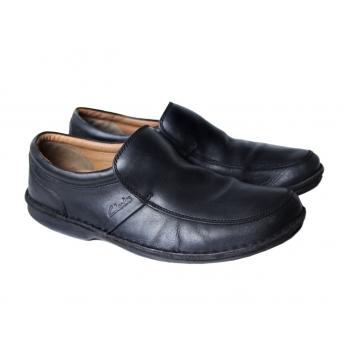 Туфли слиперы мужские кожаные CLARKS 43 размер