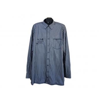 Рубашка мужская серая в полоску CASA MODA, 4XL