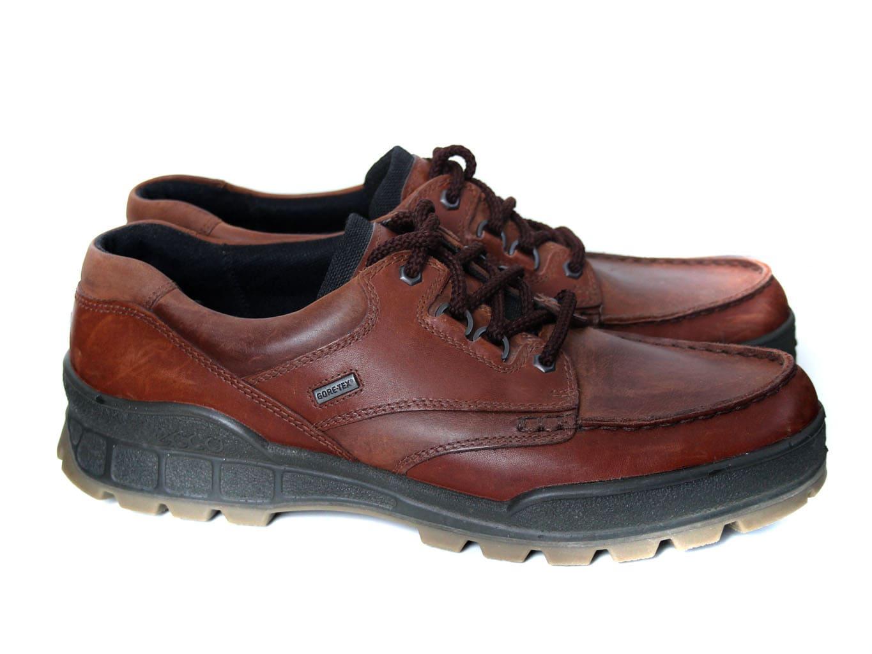 Полуботинки мужские кожаные GORE-TEX ECCO TRACK 45 размер