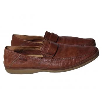 Мокасины мужские кожаные CLARKS 45 размер